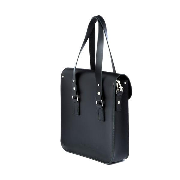 Kožená kabelka Rosemont Black/Bug XL