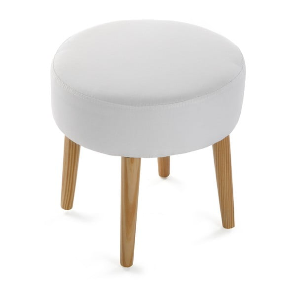 Bílá stolička Versa Patchwork