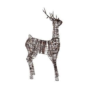 Decorațiune cu LED Best Season Deer Rattan, 120 cm
