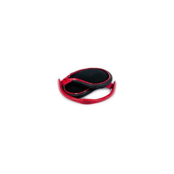 Sluchátka hi-Thin Ultraligh, červená (ideální na sport)