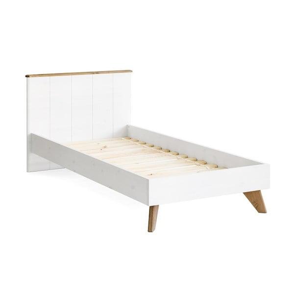 Maru egyszemélyes borovi fenyő ágy, szélesség 90 cm - Askala