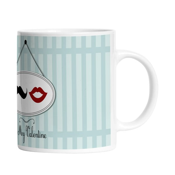 Keramický hrnek Be My Valentine, 330 ml
