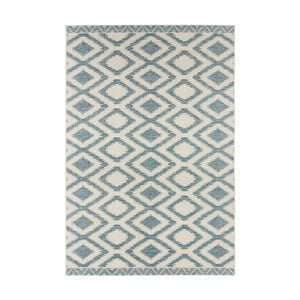 Modrošedý koberec vhodný i na ven Bougari Kalora, 140x200cm