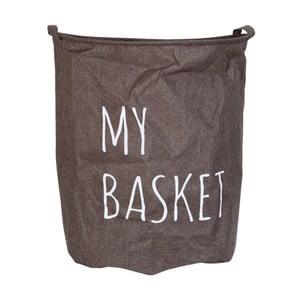 Hnědý koš Clayre&Eef My Basket