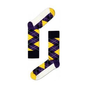 Ponožky Happy Socks Yellow and Blue, vel. 36-40