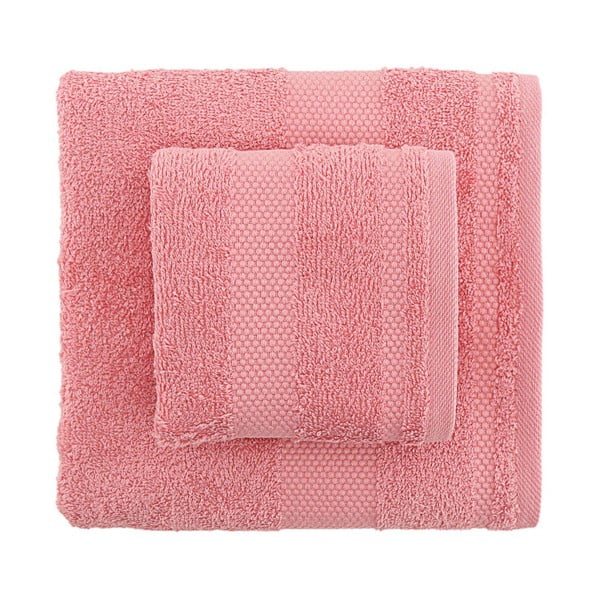 Sada 2 ručníků Clio Pink