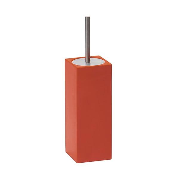 Toaletní kartáč Taco, červený