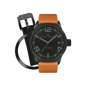 Unisex hodinky Marc Coblen s páskem a kroužkem navíc P49