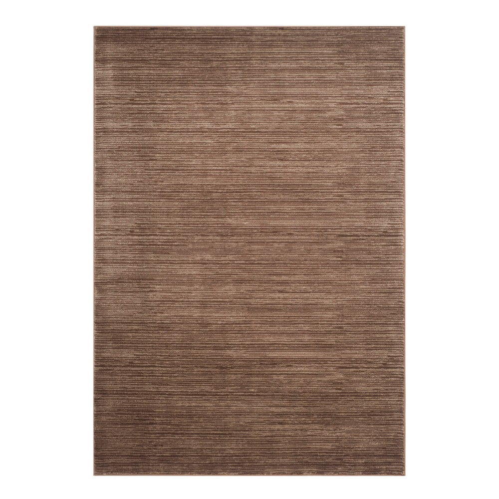 Tmavě hnědý koberec Safavieh Valentine, 91 x 152 cm