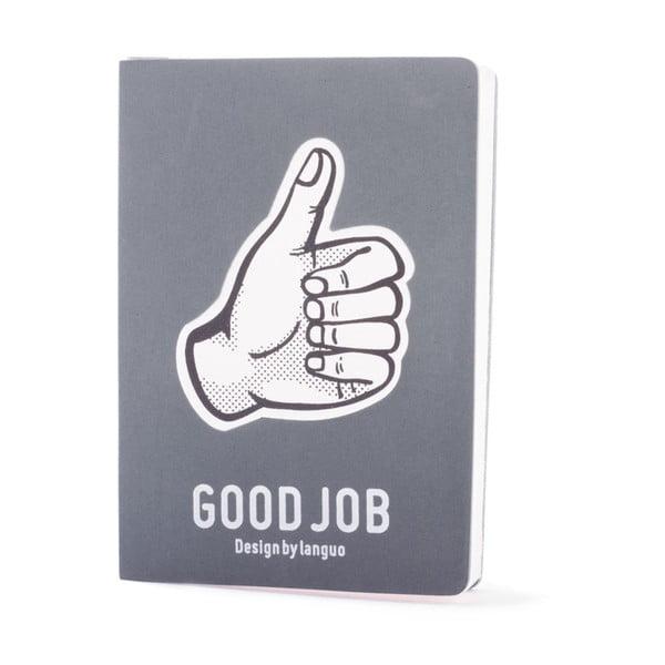Zápisník Fingers, šedý
