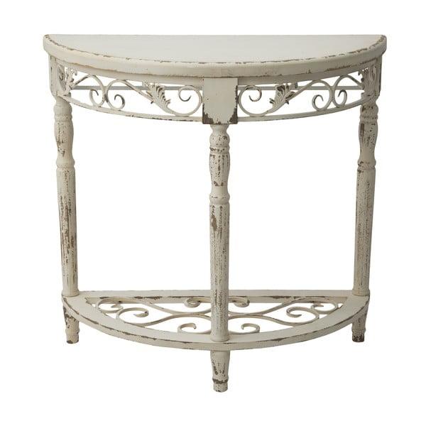 Zakulacený konzolový stolek Lyon, 80 cm