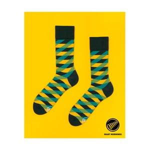 Ponožky Many Mornings Illusion Green, vel. 43/46