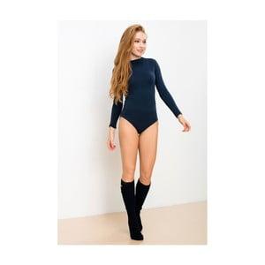 Tmavě modré body s dlouhým rukávem Lull Loungewear Truly Own, vel. XS