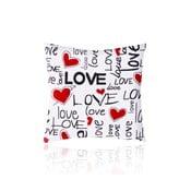 Povlak na polštář Love Love, 50x50 cm