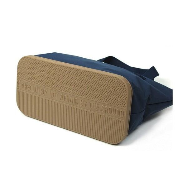 Taška přes rameno Lexon Good s gumovou podrážkou, modro-béžová