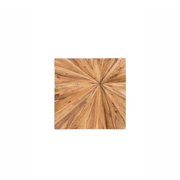 Dřevěná nástěnná dekorace WOOX LIVING Sun, 70x70cm