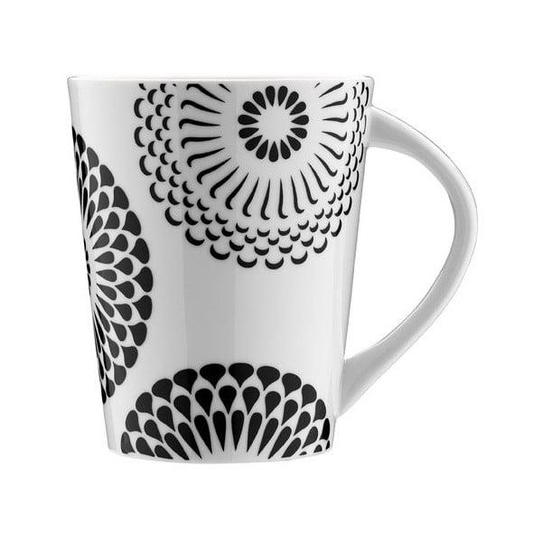 Porcelánový hrnek Květinový ornament, 275 ml