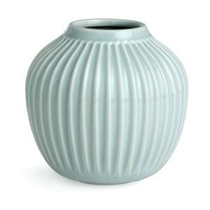 Mentolově modrá váza Kähler Design Hammershoi,malá