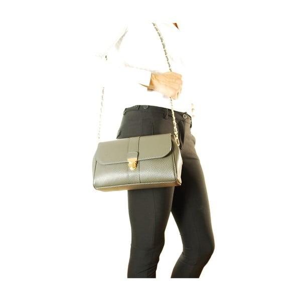 Kožená kabelka Paola Fumo