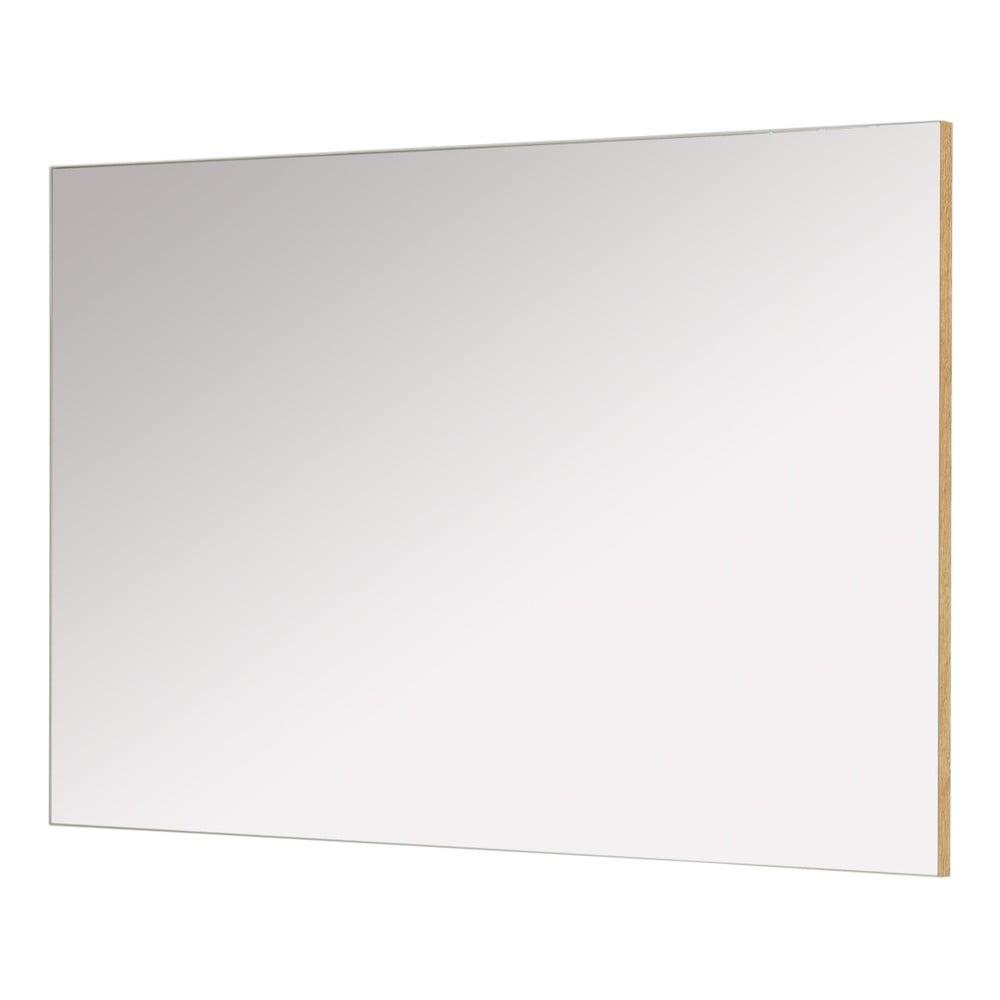 Nástěnné zrcadlo s rámem v dekoru dubového dřeva Germania Castera, 94 x 60 cm