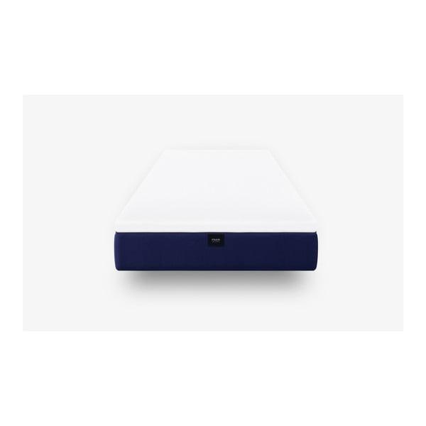 Tmavě modrá pěnová matrace muun Default, 90 x 200 cm