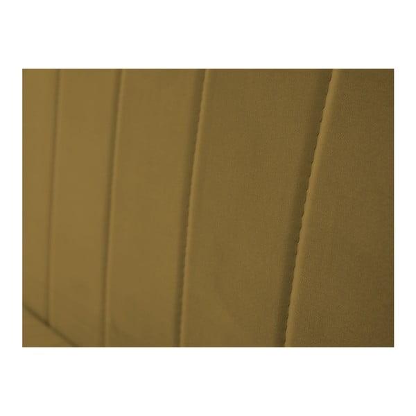 Dvoumístná pohovka ve zlaté barvě Mazzini Sofas Benito