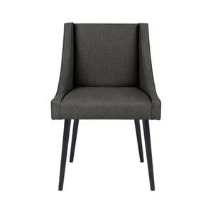 Tmavě šedá židle Micadoni Home Massimo