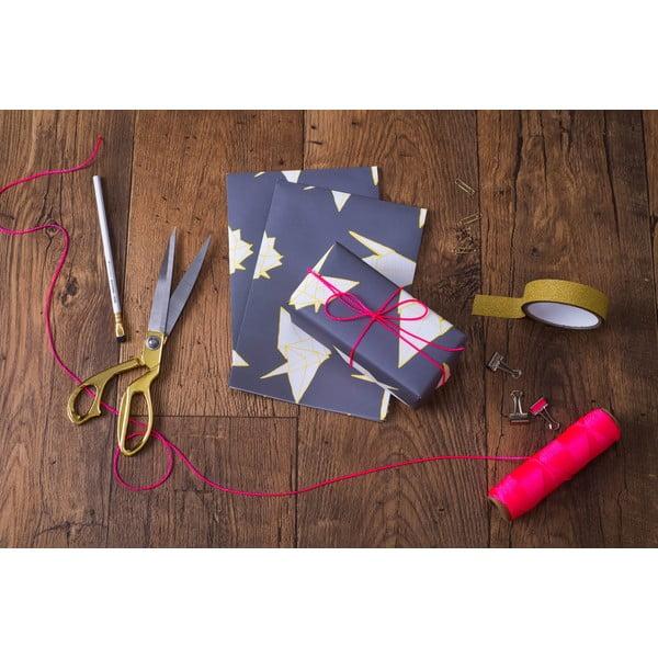 Balící papír Cranes, 3 listy