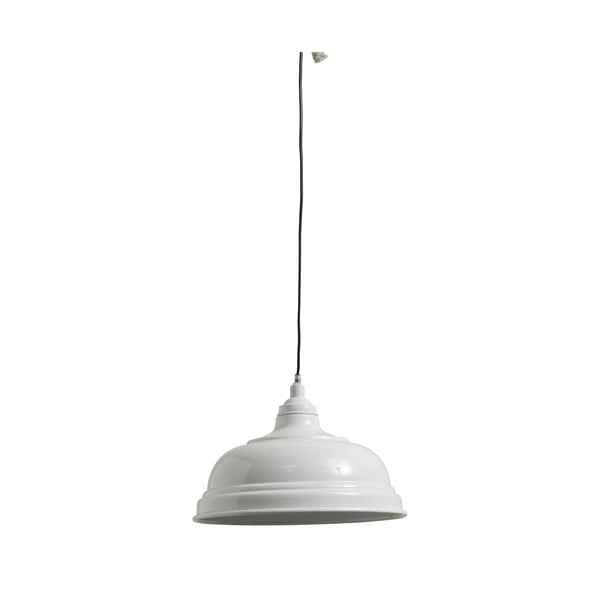 Závěsné svítidlo Bell 32 cm,  bílé