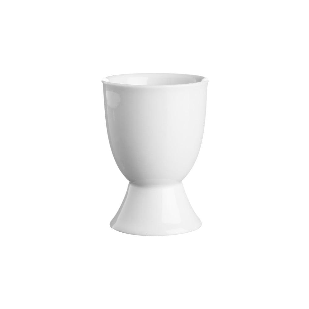 Stojánek na vajíčko z bílého porcelánu Price&Kensington Simplicity