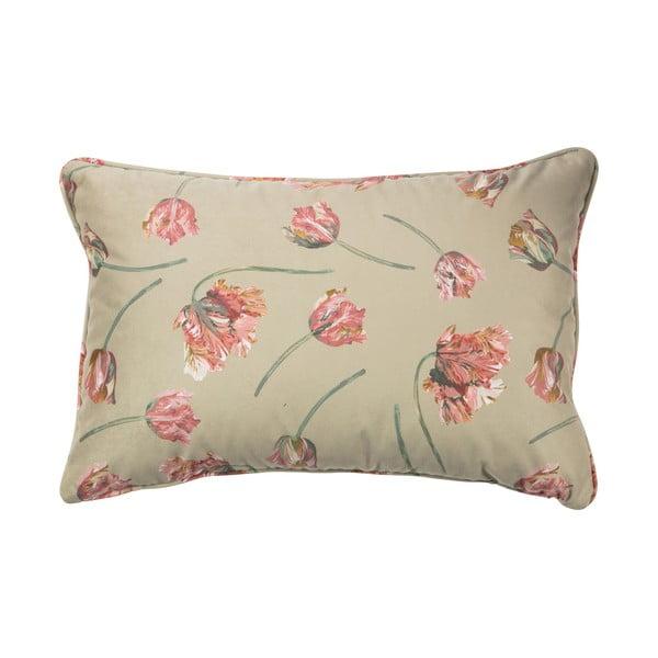 Béžový polštář BePureHome Vogue, 60 x 40 cm