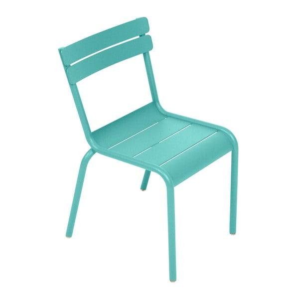 Nebesky modrá dětská židle Fermob Luxembourg