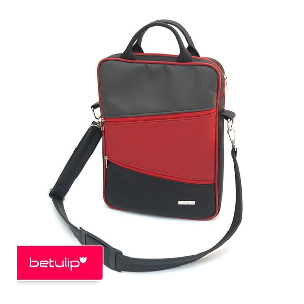 Tulipka notebookovka, černočervená