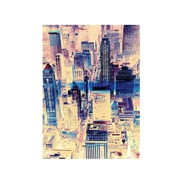 Obraz na plátně Pohled na město, 100x70 cm