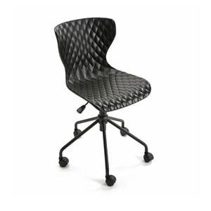 Černá kancelářská židle Versa