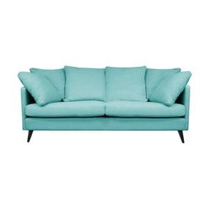 Modrá trojmístná pohovka Helga Interiors Victoria