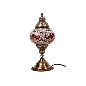 Lampă din sticlă Homemania Syrakusy, ⌀ 13 cm