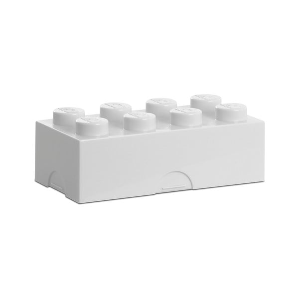 Biały pojemnik śniadaniowy LEGO®