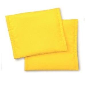 Textilní potah na židli Scooter, žlutý