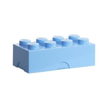 Cutie pentru prânz LEGO®, albastru deschis imagine