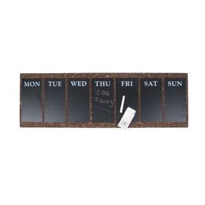 Nástěnná tabule s týdenním plánovačem Present Time Cork