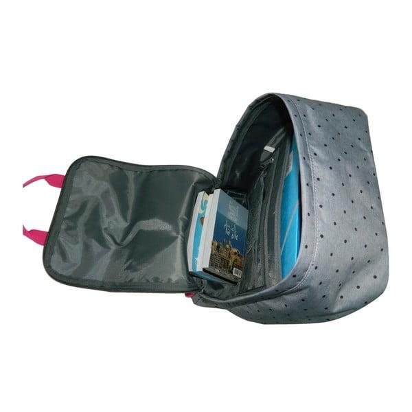 Šedý školní batoh Bagtrotter Offshore