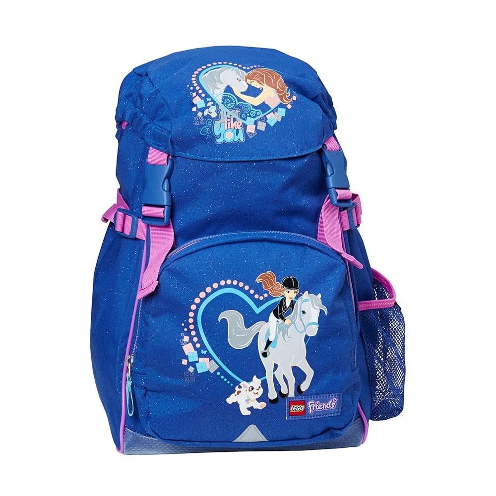 Modrý dětský batoh LEGO® Friends Horse Norwegian