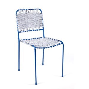 Židle Cuerda, modrá