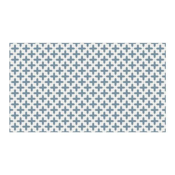 Vinylový koberec Inas Blue, 52x140 cm
