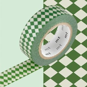 Bandă decorativă Washi MT Masking Tape Carole, rolă 10 m de la MT Masking Tape