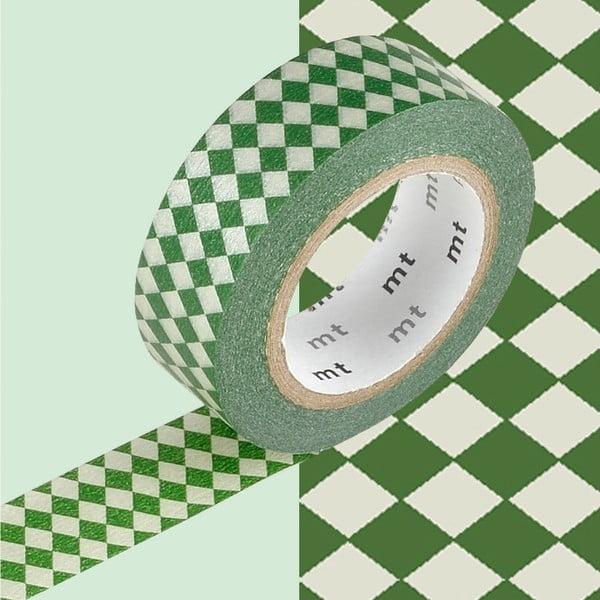 Bandă decorativă Washi MT Masking Tape Carole, rolă 10 m