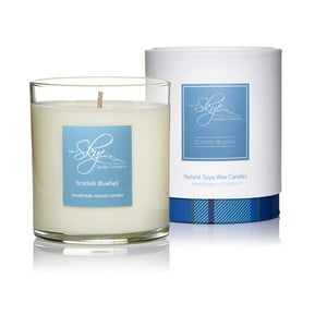 Lumânare cu aromă de zambilă sălbatică, iasomie, galban și trandafir Skye Candles Tumbler, timp de ardere 45 ore