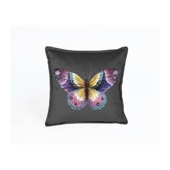 Față de pernă reversibilă din catifea Surdic Butterfly Puro, 45 x 45 cm de la Surdic