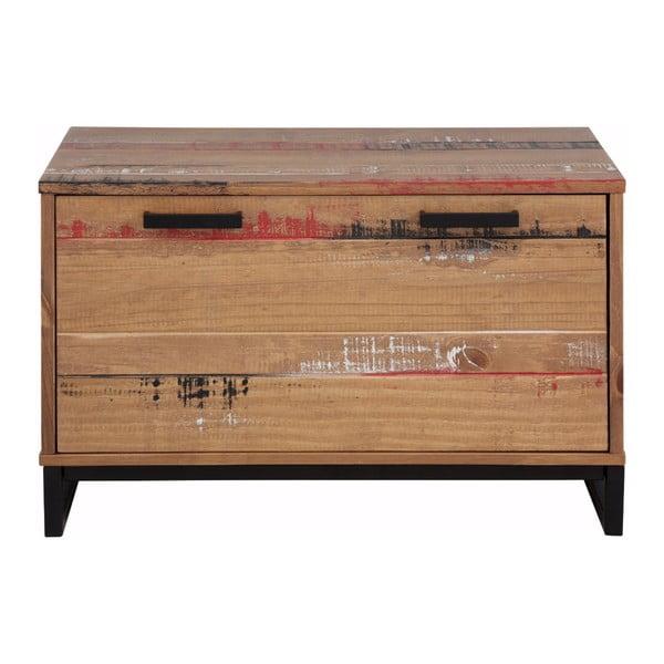 Santana fapad lenyíló ajtóval masszív fenyőfából - Støraa